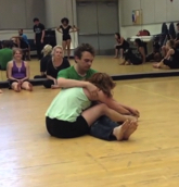 Contact Improvisation for Actor Training